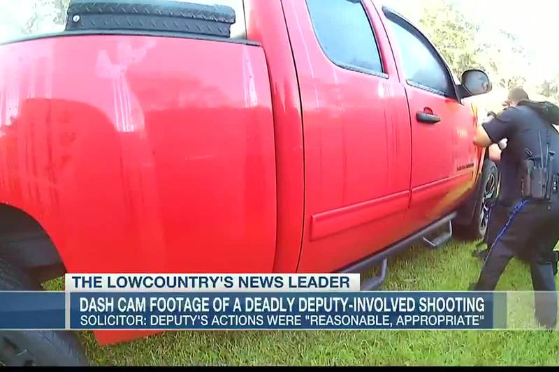 VIDEO: Dash cam footage of deadly deputy-involved shooting released