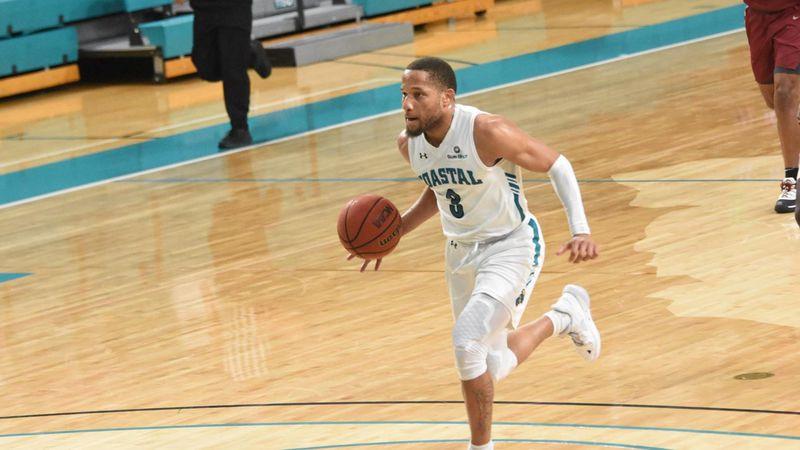CCU guard DeVante Jones