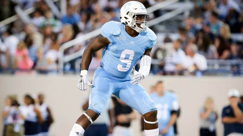 The Citadel's Willie Eubanks III was named the Southern Conference Defensive Player of the Year...