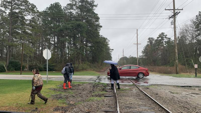 Relatives were busy Thursday morning searching for a missing Horry County woman in the Conway...