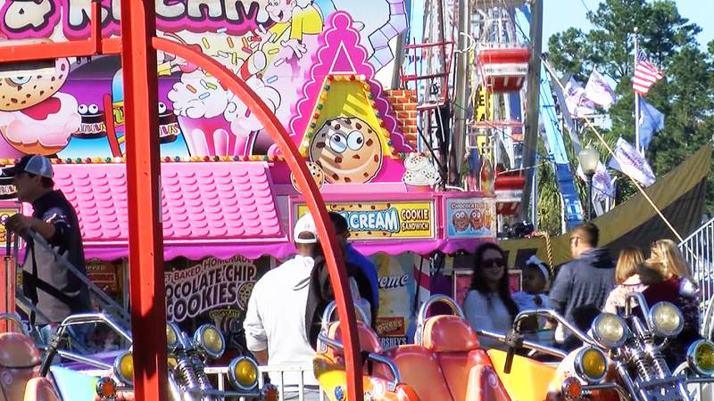 The Coastal Carolina Fair returns Thursday for the first time since 2019 because of the pandemic.