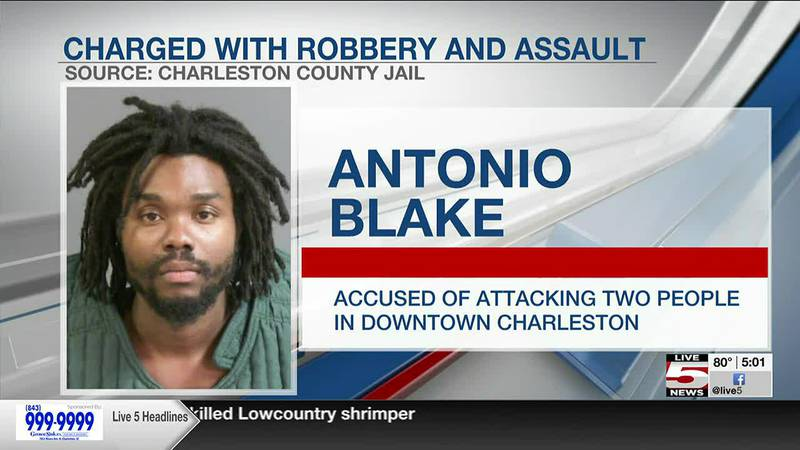 VIDEO: Suspect arrested after man suffers brain injury during attack in Charleston