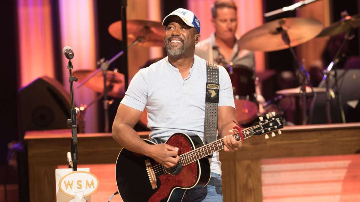 Darius Rucker is performing at the Grand Ole Opry Saturday night.