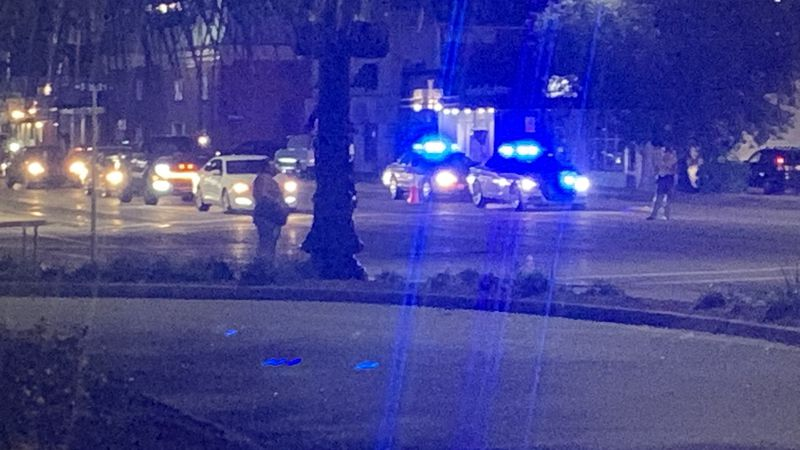The scene near 12th Avenue North and Ocean Boulevard. (Source: WMBF News)
