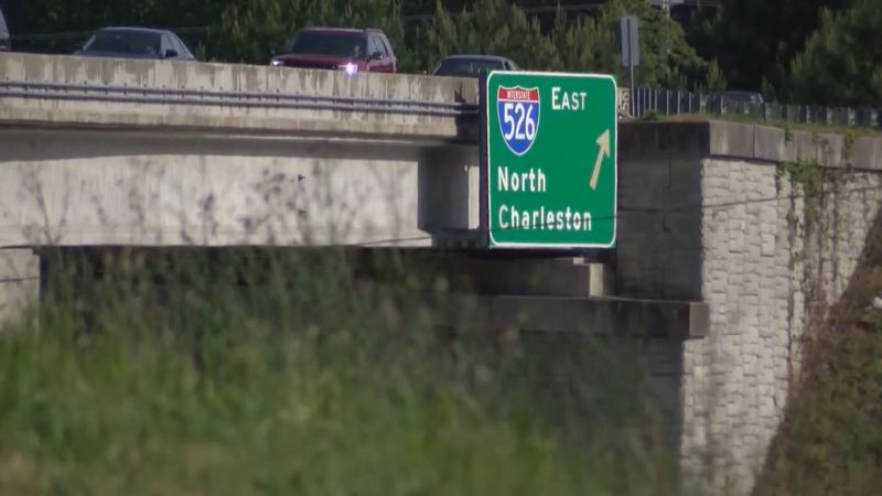 I-526 extends from West Ashley to Mount Pleasant.
