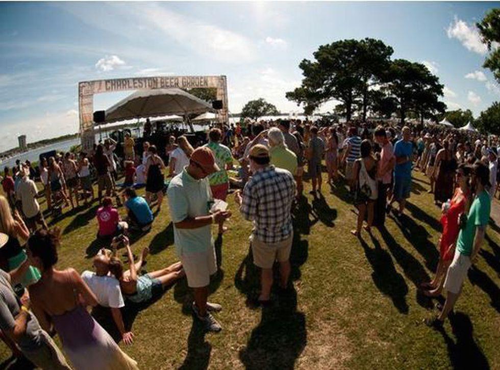 Photo source: Charleston Beer Garden website
