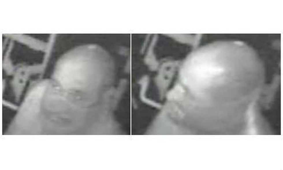 Surveillance footage of the suspect. (Source: CPD)