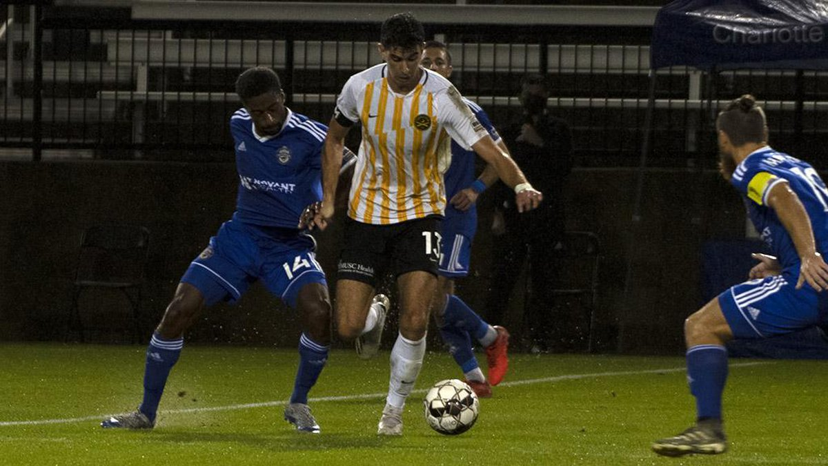 The Battery defeated Charlotte 2-1 in the USL Championship playoffs on Saturday night to...