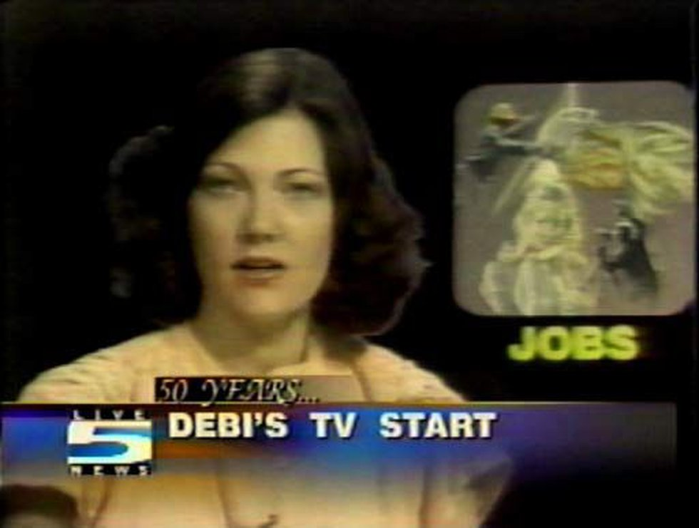Debi Chard began anchoring on Live 5 WCSC in 1976. (Source: Live 5)