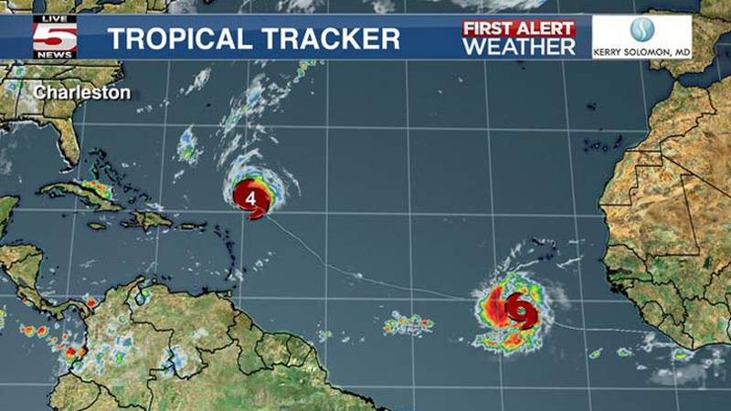Hurricane Sam remained a Category 4 storm Thursday morning, while Tropical Storm Victor was...