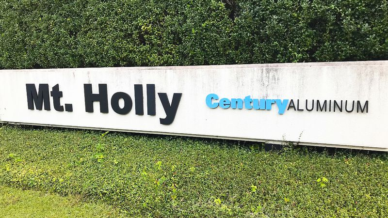 The aluminum plant said it will close down its Mount Holly operation on Dec. 31 if its power...