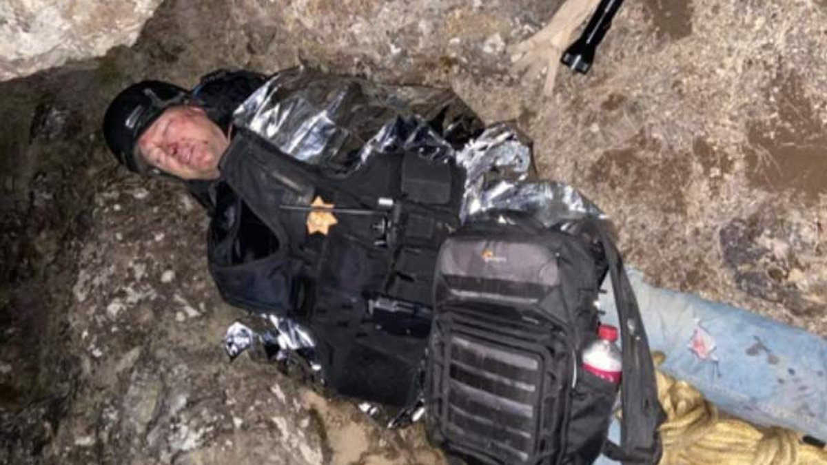 This week, a man searching for his drone ended up pinned by a falling boulder and struggled for...