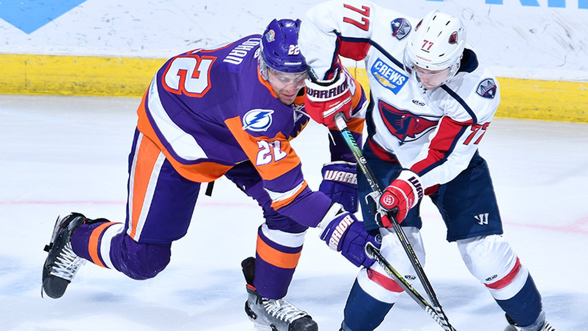 The Stingrays earned a 6-2 win over Orlando on Thursday to move into the final playoff spot in...