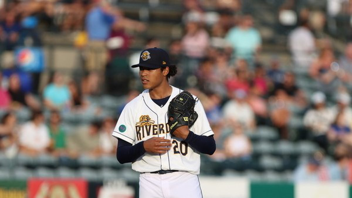 RiverDogs pitcher Taj Bradley has been promoted to High-A Bowling Green
