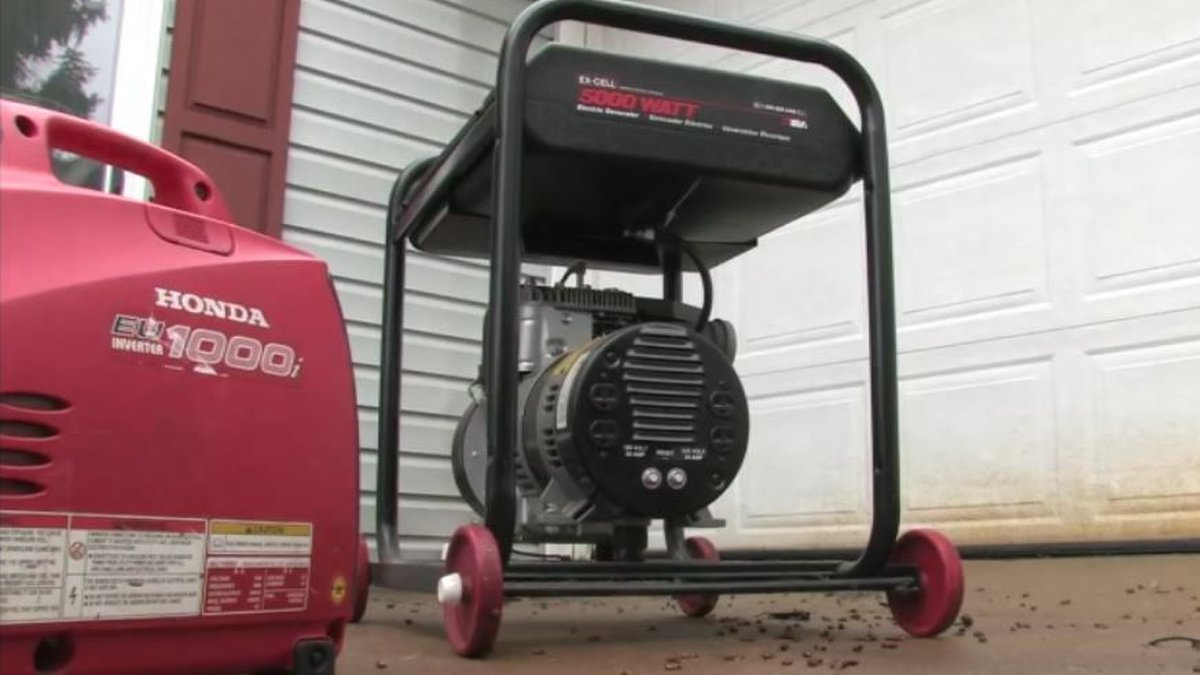 Generators can keep lights running, but could cause a risk of carbon monoxide poisoning if not...