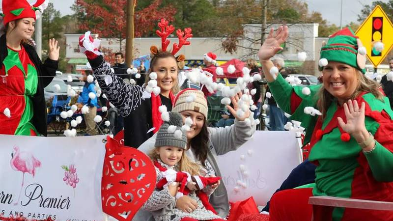 The City of Goose Creek Recreation says they'll be holding their Christmas in the Creek Holiday...