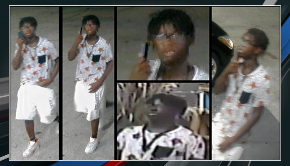 North Charleston Police said Thursday the person pictured is wanted for questioning in the...