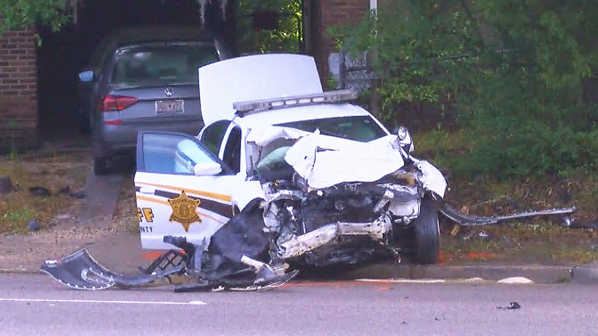 The accident happened on Thursday morning at 5:58 a.m. on Old Towne Road near North Hillside...