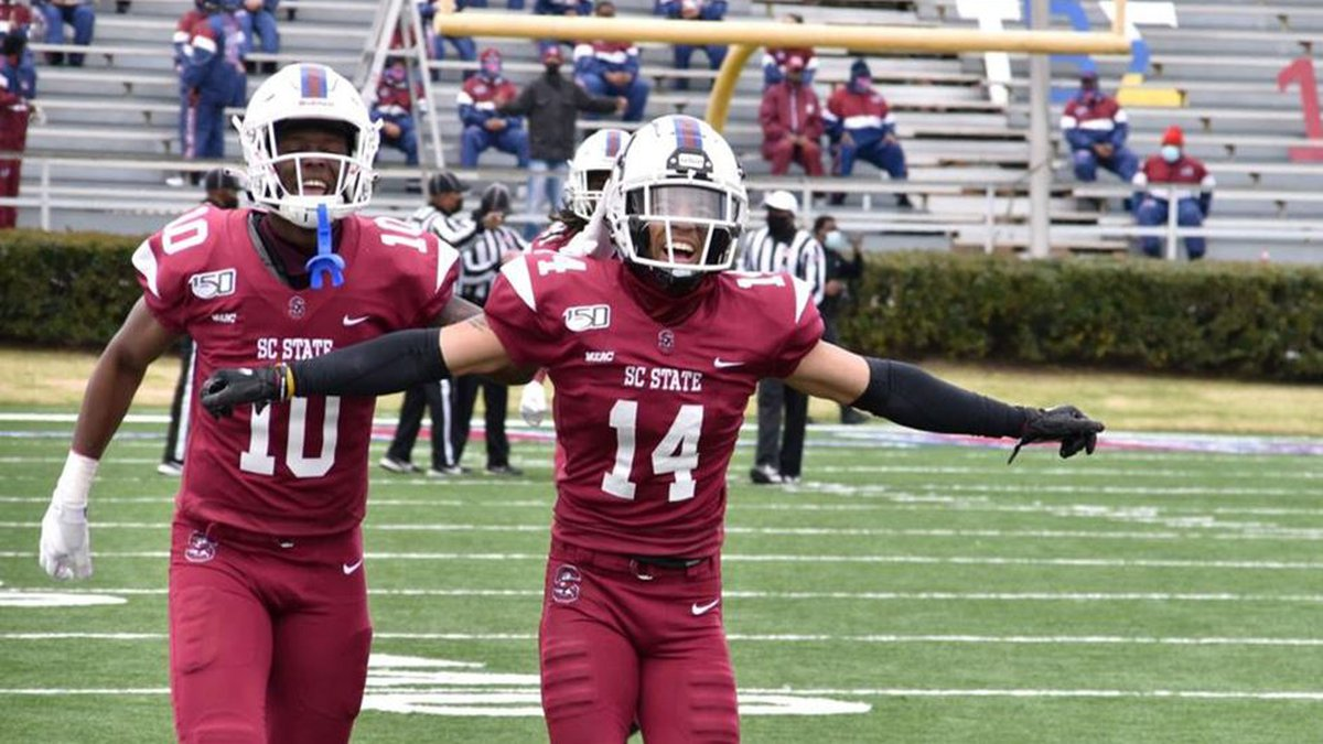 SC State puts on an offensive clinic, racking up over 500 yards of total offense in a 42-35...
