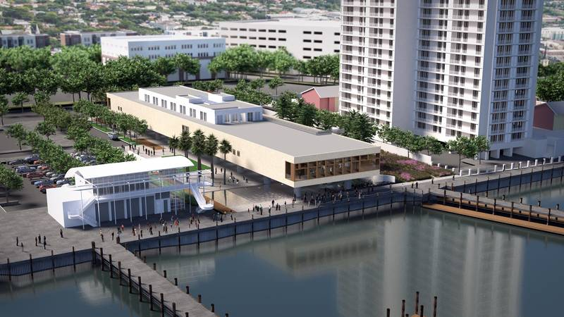 The city and the leaders of the museum hope to break ground on the museum at Gadsden's Wharf in...